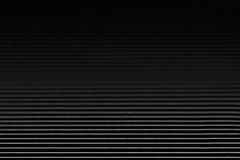 Abstract minimalistic black striped background with horizontal lines and header. Copy space . Royalty Free Stock Photography