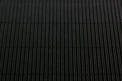 Abstract minimalistic black striped background with vertical lines and header. Stock Photography
