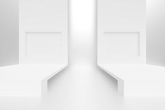 Abstract Minimalistic Construction Royalty Free Stock Photography