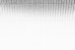 Abstract minimalistic white striped background with vertical lines and header. Copy space . Royalty Free Stock Image