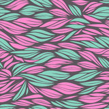 Abstract mint and pink pattern wit waves Royalty Free Stock Photo