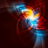 Abstract miracle flower Stock Photos