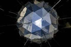 Abstract Mirror Ball and Sky Royalty Free Stock Images