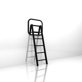 Abstract Mirror And Ladder Stock Photos