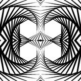 Abstract mirrored vortex background, pattern. Spirally monochrom. Abstract mirrored vortex background, pattern. Seamlessly repeatable pattern with spirally Royalty Free Stock Image