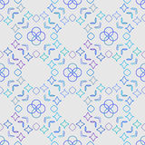 Abstract  mirroring seamless geometry pattern Royalty Free Stock Photo