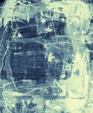 Abstract mixed media background or texture Royalty Free Stock Images