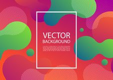 Abstract mixing of colors and lines. In a beautiful combination. Modern vector template for design of posters and much more vector illustration