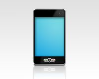 Abstract mobile phone Royalty Free Stock Images