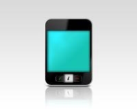 Abstract mobile phone Royalty Free Stock Photography