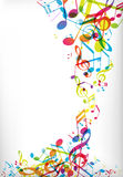 Abstract mobile phone backgrounds. With colorful tunes Stock Photo