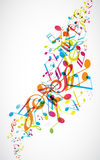 Abstract mobile phone backgrounds. With colorful tunes Stock Images