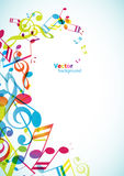 Abstract mobile phone backgrounds. With colorful tunes Royalty Free Stock Image