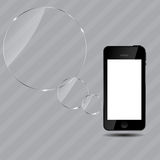 Abstract mobile phone vector illustration Stock Photo
