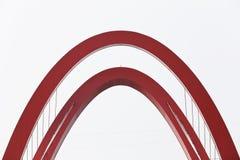 Abstract model van brug Royalty-vrije Stock Foto