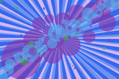 Abstract moder background eith bubbles and lines. Abstract modern background with a lot of colours stock illustration