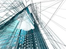 Abstract modern architecture Royalty Free Stock Image