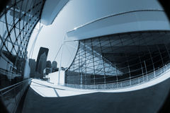 Abstract Modern Architecture Royalty Free Stock Photography