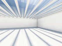 Abstract modern architecture background, empty white open space Royalty Free Stock Images