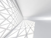 Abstract modern architecture background, empty white open space Royalty Free Stock Photo