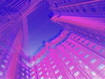 Abstract modern architecture Royalty Free Stock Photo