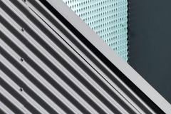 Abstract modern architecture Stock Image
