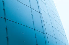 Abstract modern architecture fragment Royalty Free Stock Photography