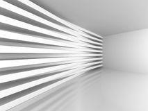 Abstract Modern Architecture Interior Background Stock Photo