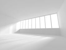 Abstract Modern Architecture Interior Background. 3d Render Illustration Royalty Free Stock Photos