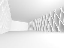 Abstract Modern Architecture Interior Background. 3d Render Illustration Royalty Free Stock Photography