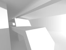 Abstract Modern Architecture Interior Background. 3d Render Illustration Stock Photos