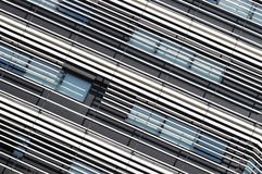 Abstract modern architecture. Line detail composition Stock Image