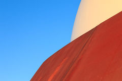 Abstract modern architecture rust surface Royalty Free Stock Photo