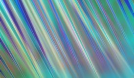 Abstract modern art background style design with blurred stripes of blue green yellow and purple Stock Image