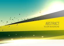 Abstract modern background with glow effect. Illustration Royalty Free Stock Photography