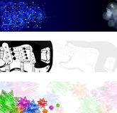 Abstract modern banner Stock Images