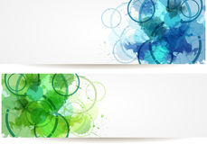Abstract modern banner Stock Photo