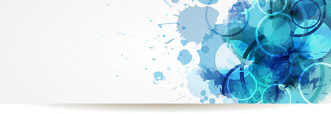 Abstract modern banner Royalty Free Stock Photo