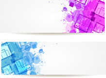 Abstract modern banners Stock Photo