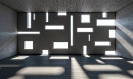 Abstract modern binnenland Stock Fotografie