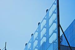 Abstract modern building Stock Photos