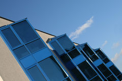 Abstract modern building Royalty Free Stock Photo