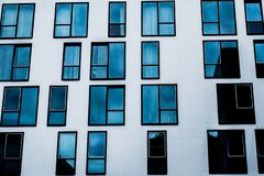 Abstract modern building royalty free stock image