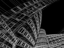 Abstract modern building Stock Photography