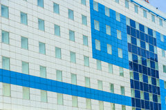 Abstract modern building. A part of a modern building in Cluj-Napoca, Romania royalty free stock images