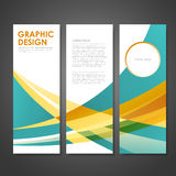 Abstract modern business banner template Stock Images