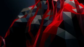 Abstract modern business science polygon stock video