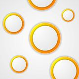 Abstract modern circles background Royalty Free Stock Images