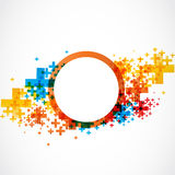 Abstract modern color background Royalty Free Stock Images