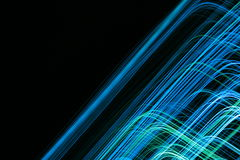Abstract modern colored lines Royalty Free Stock Photo